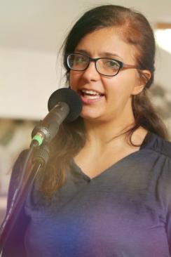 Bild von Sophia Al-Saroori, Gesang, Workshop-Organisation
